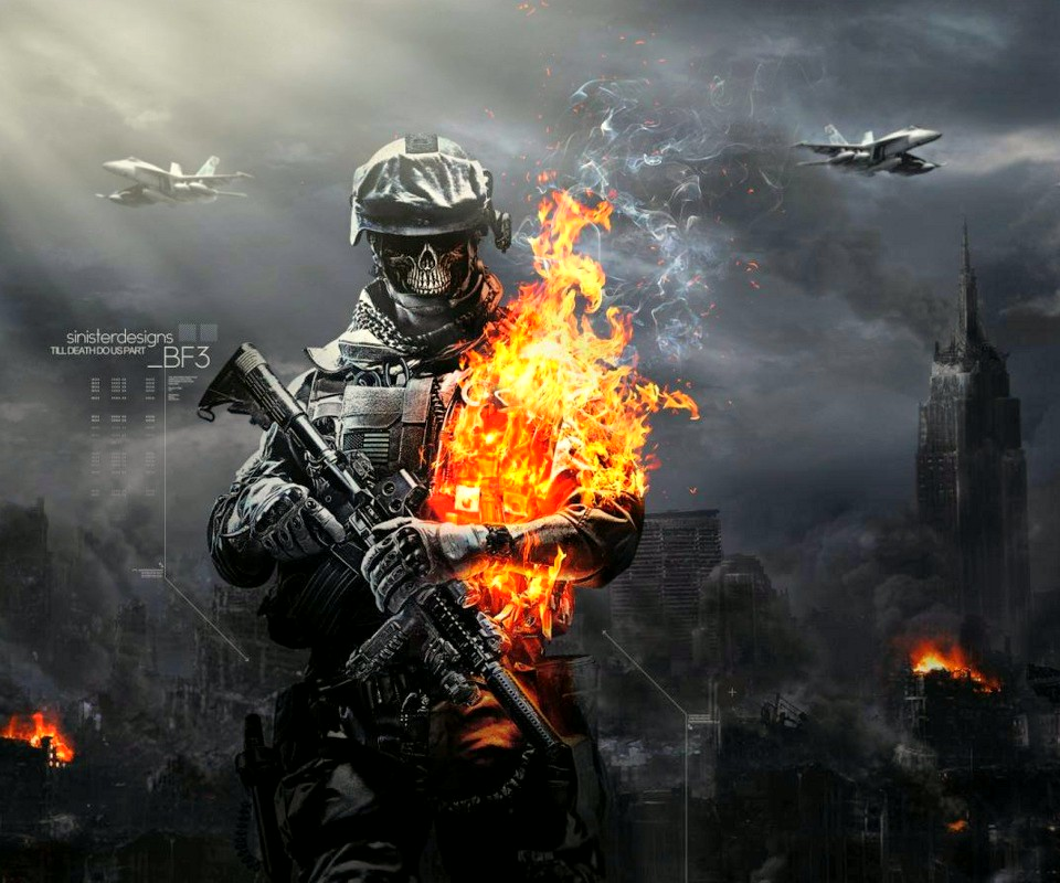 bf3 skull wallpaper - photo #4